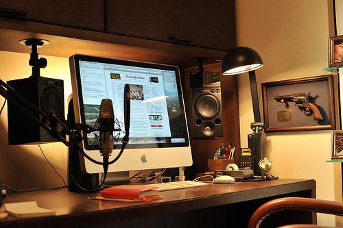 Macのデスク