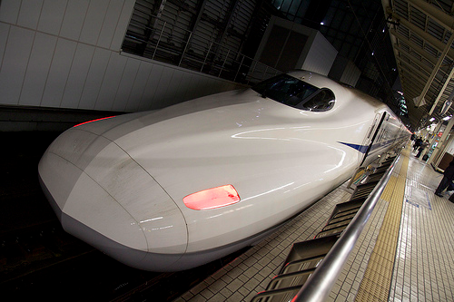 N700系新幹線「のぞみ207号」