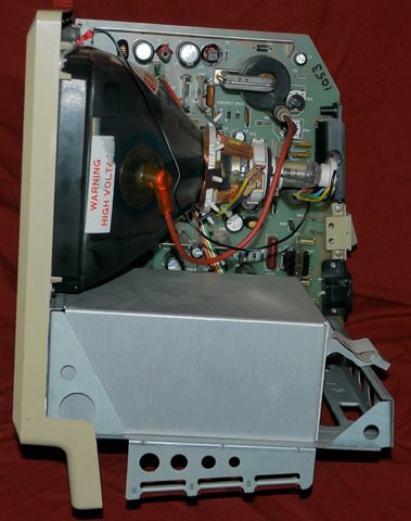 Mac 128k side