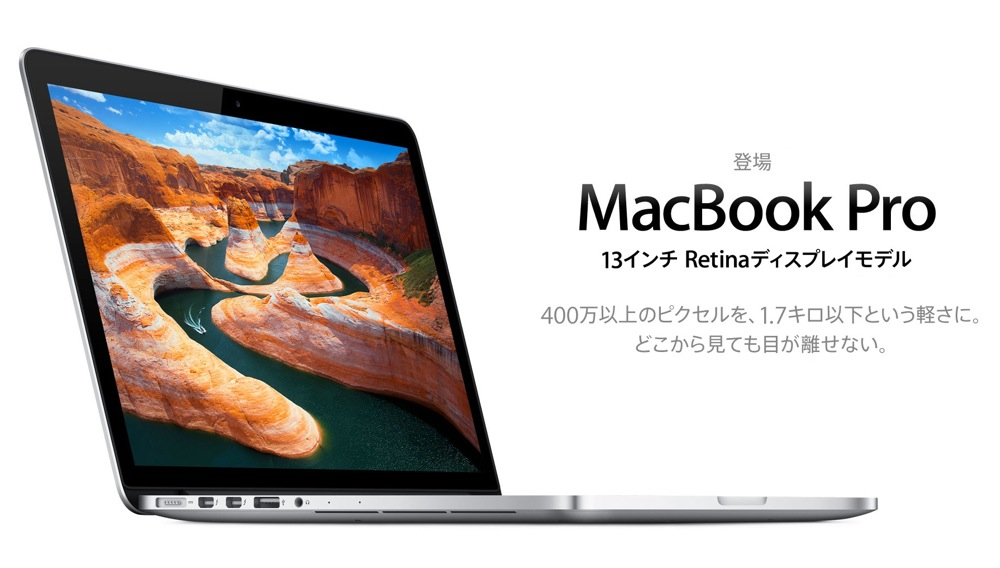 13inch macbook pro with retina display title