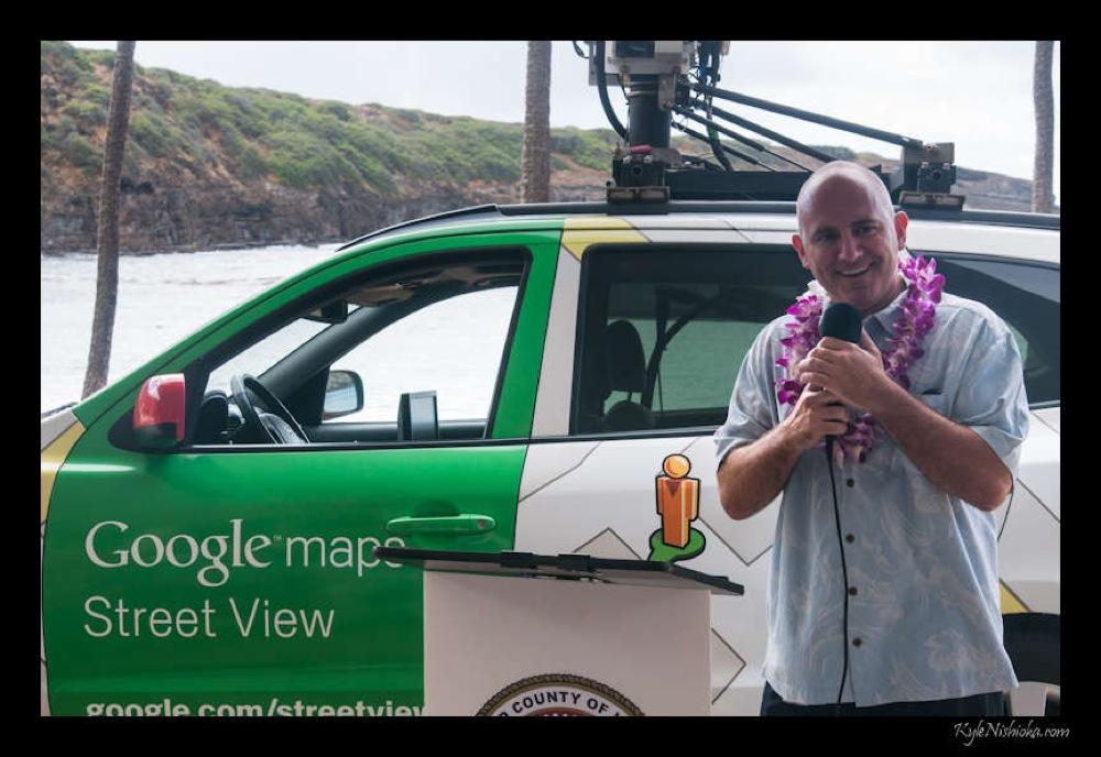 Googleマップストリートビューカー