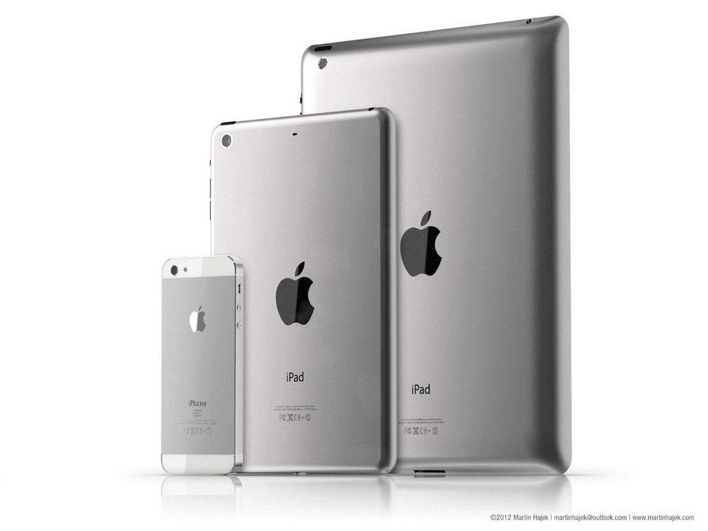 Apple ipad mini iphone header