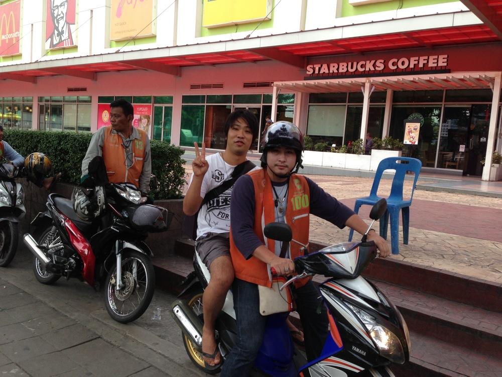 Bangkok bike taxi 04
