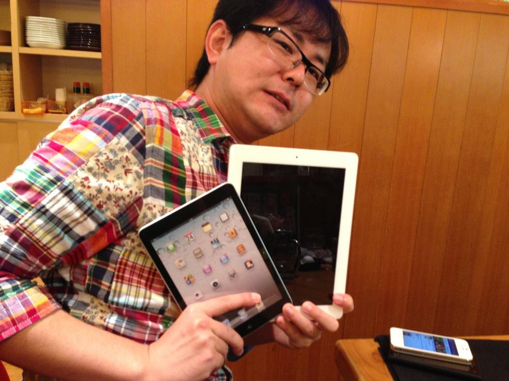 iPad miniとごりゅご