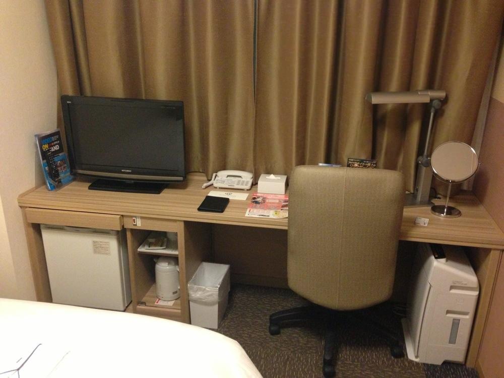 ダイワロイネットホテル京都八条の部屋の中