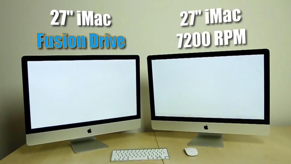 Fusion drive vs HDD