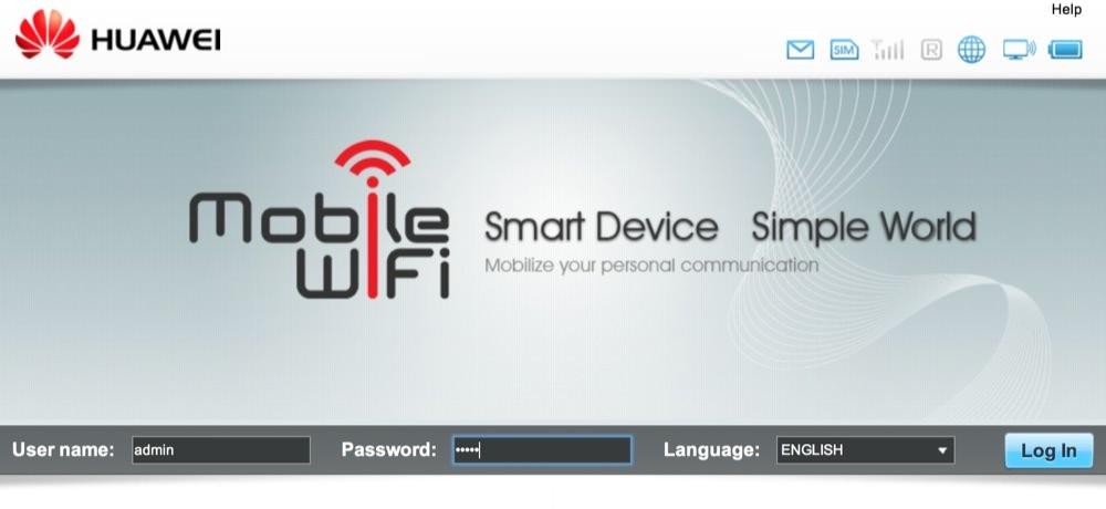 Huawei e586 settings 00
