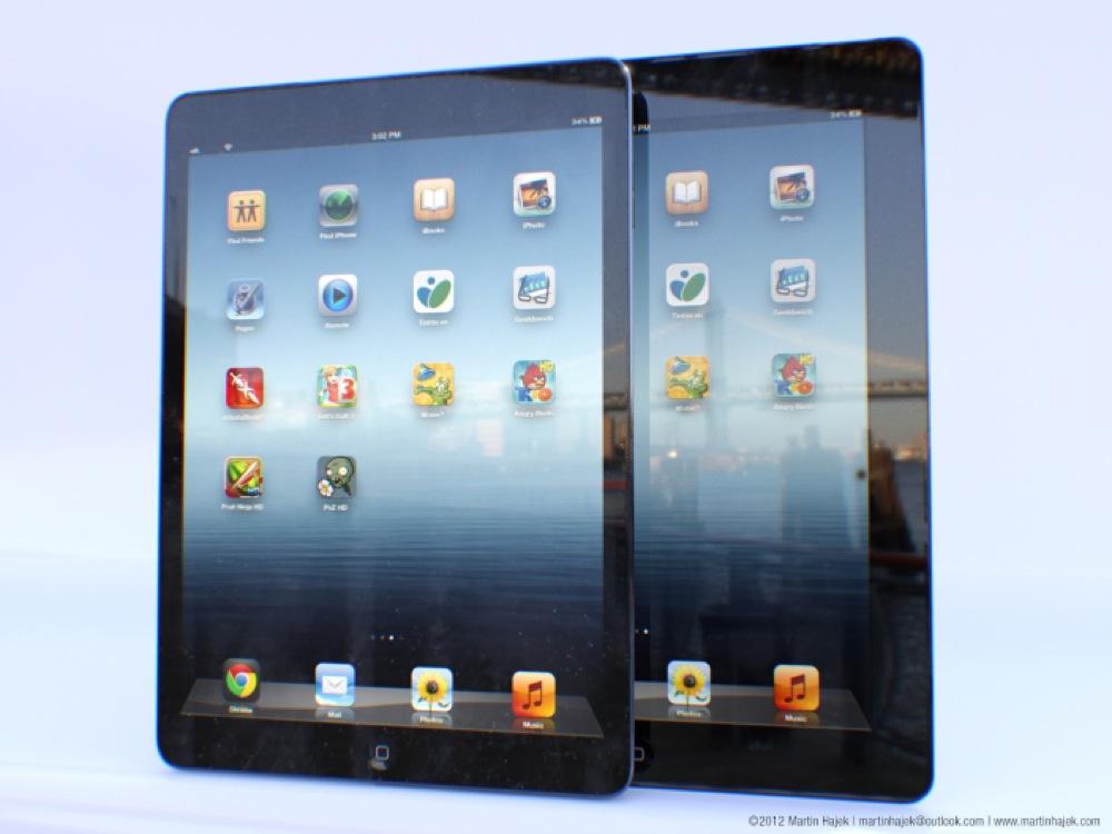 iPad 5のモックアップ