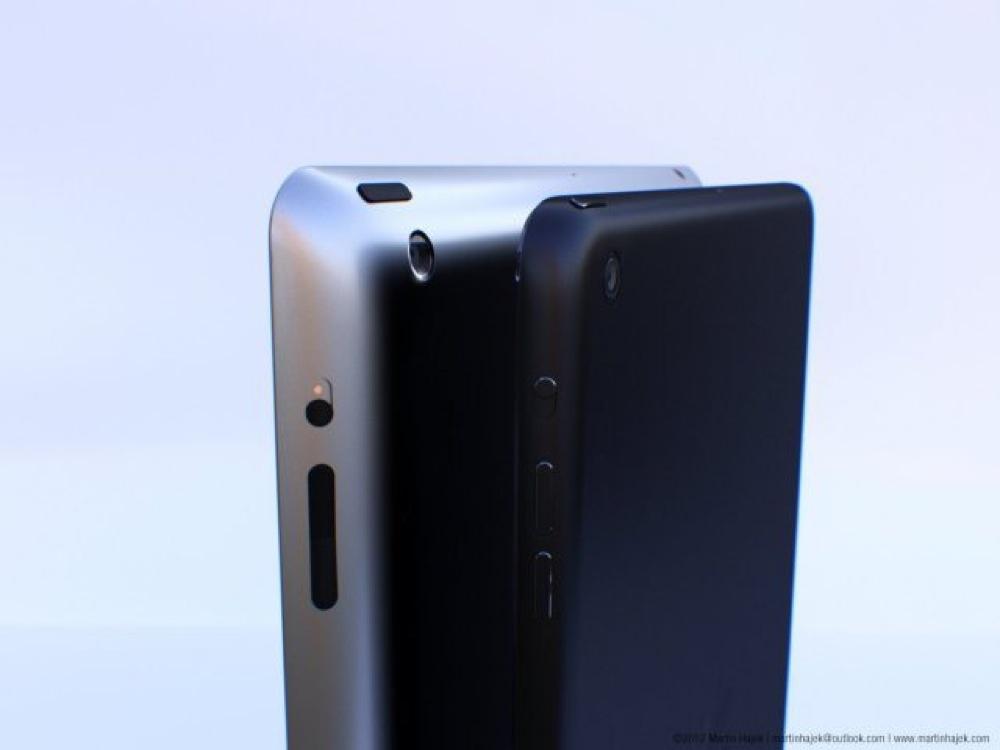 iPad 5のモックアップ2