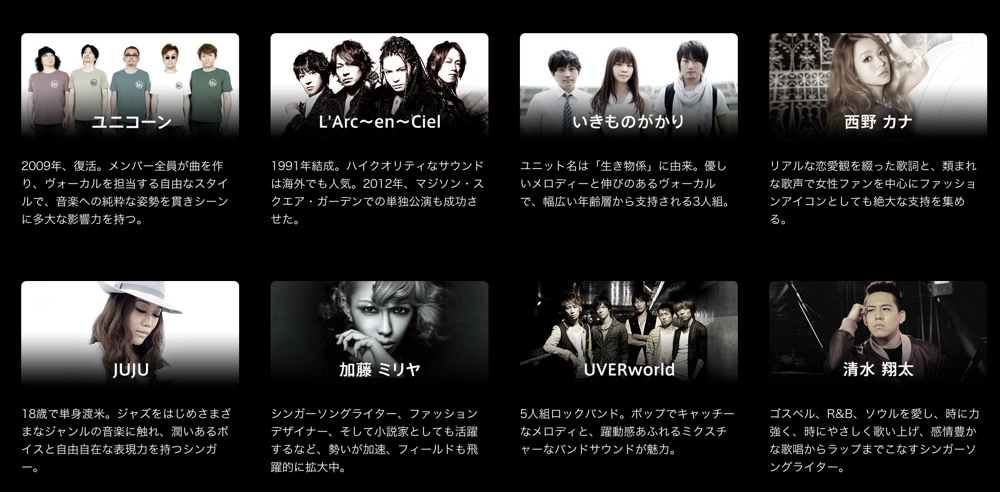 Itunes store sony artist list 02