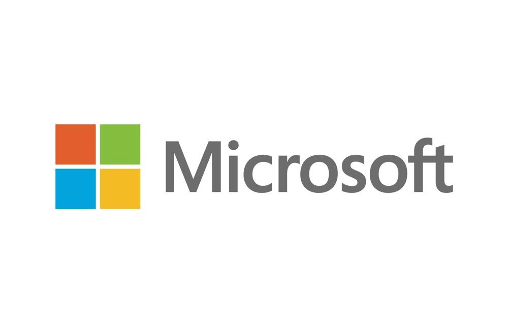 Microsoft new logo title