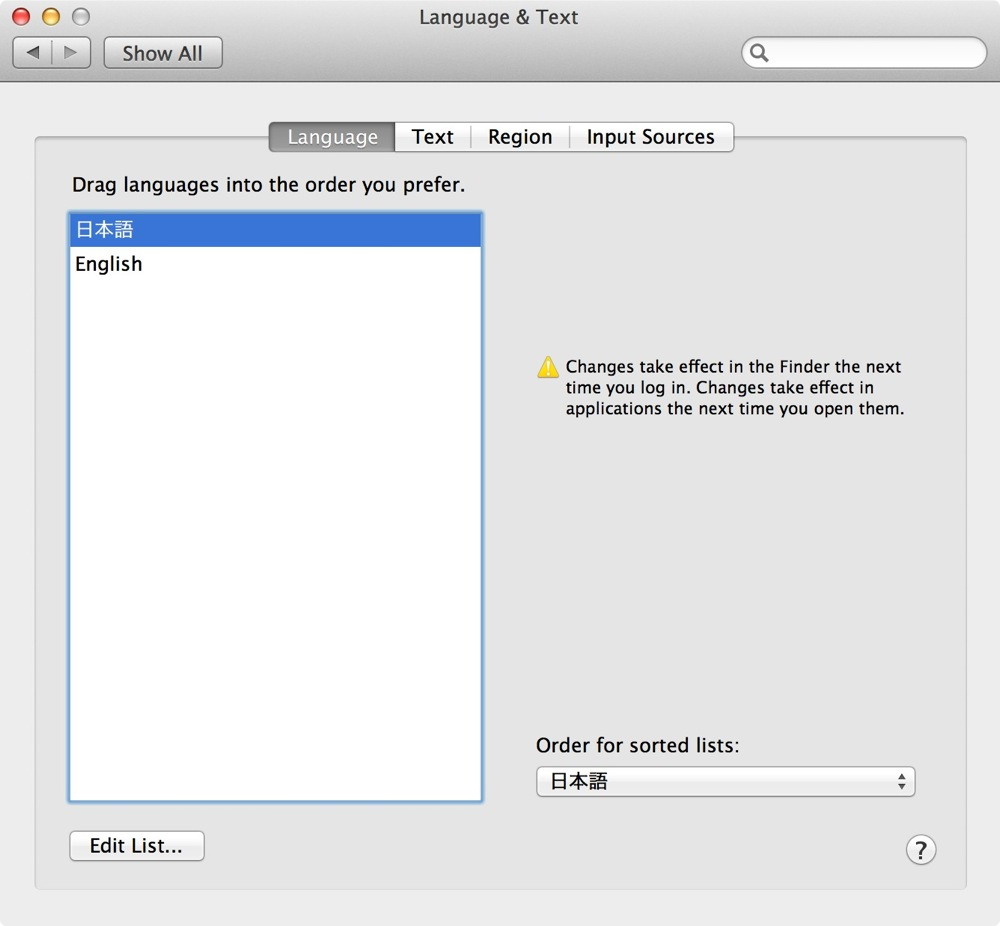 Os x language change 08