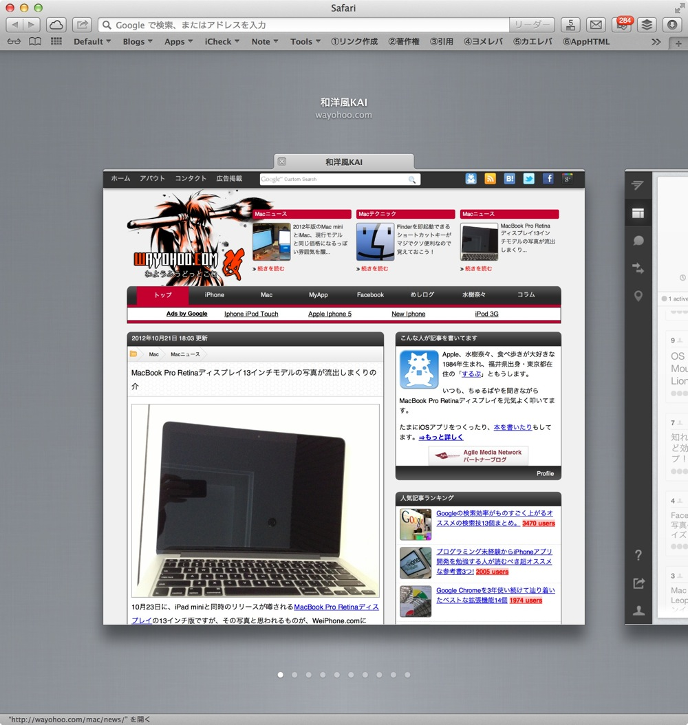 Safari for mac new function tab view sugeee 03