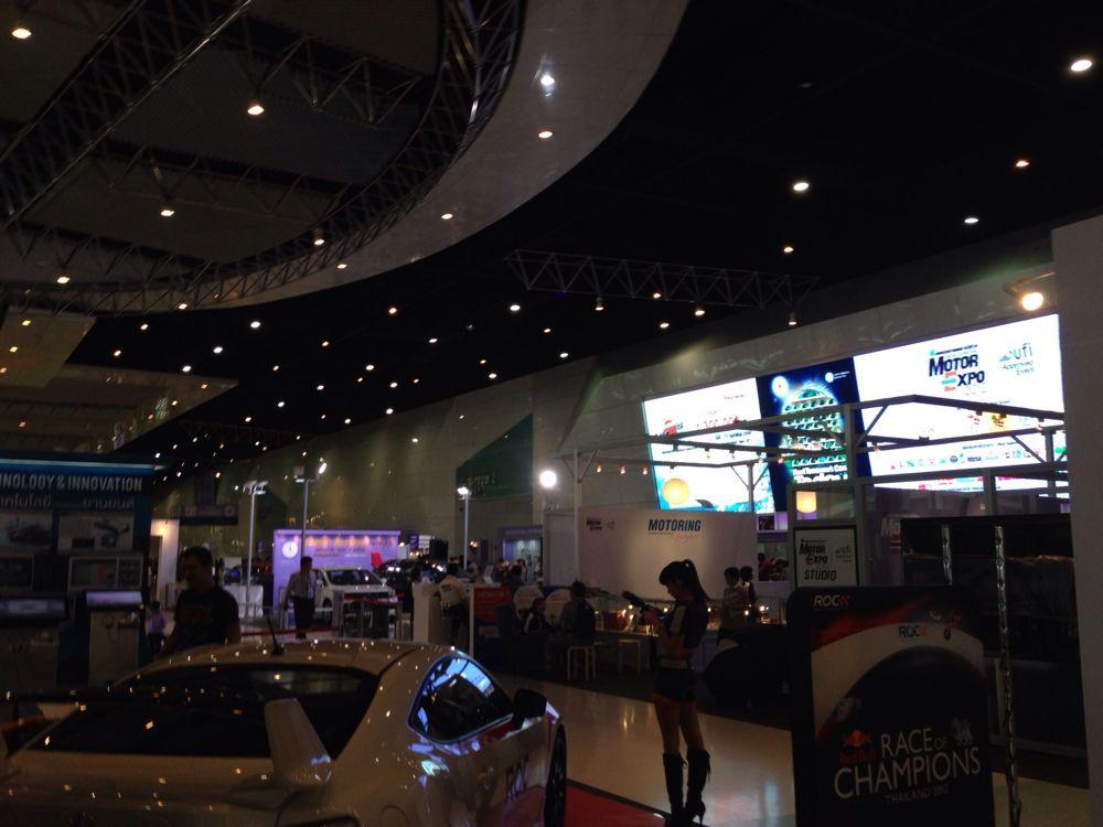 美女だらけやないか!タイ最大のモーターショー「Motor Expo 2012」にいってきた! #ブログ観光大使