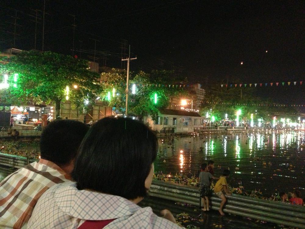Thailand loi krathong festival 65