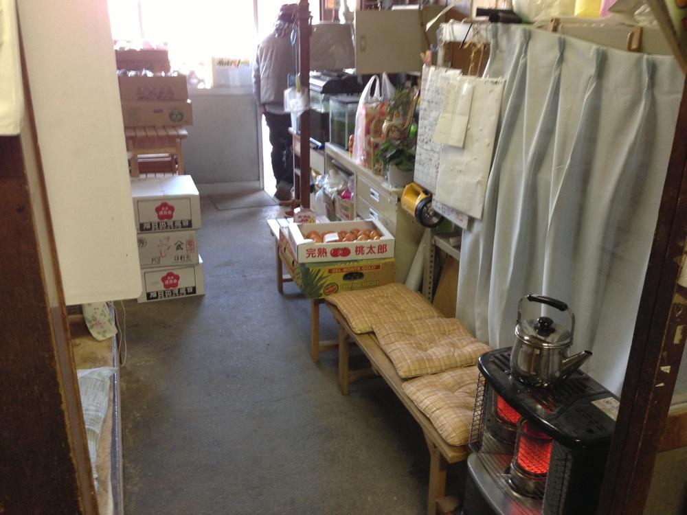須崎食料品店の店内