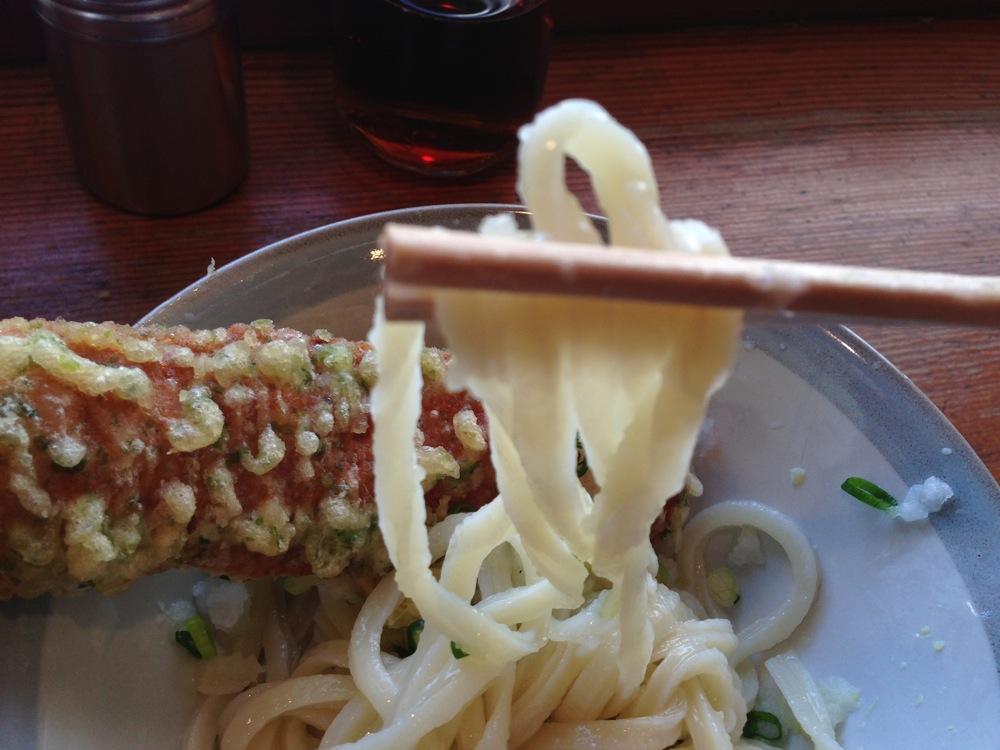 中村うどんのしょうゆを実食!