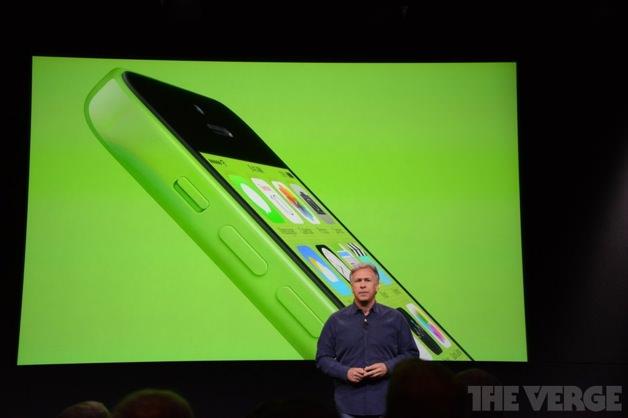 緑色のiPhone 5c