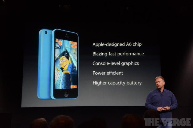 iPhone 5cのスペック