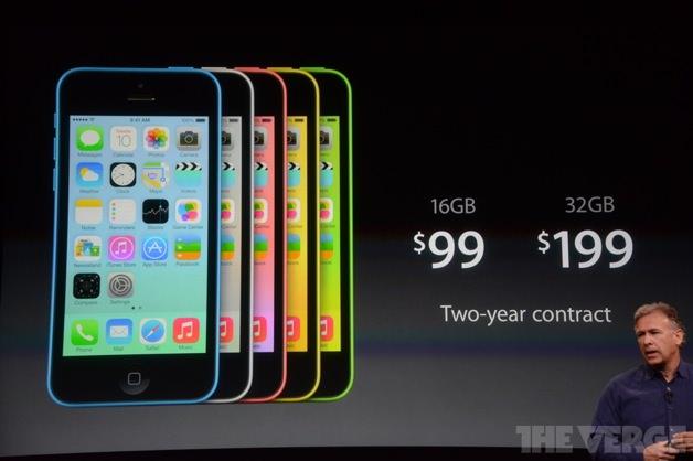 iPhone 5cの価格