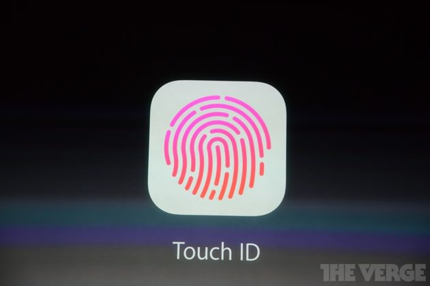 iPhone 5sには指紋認証センサー「Touch ID」が搭載
