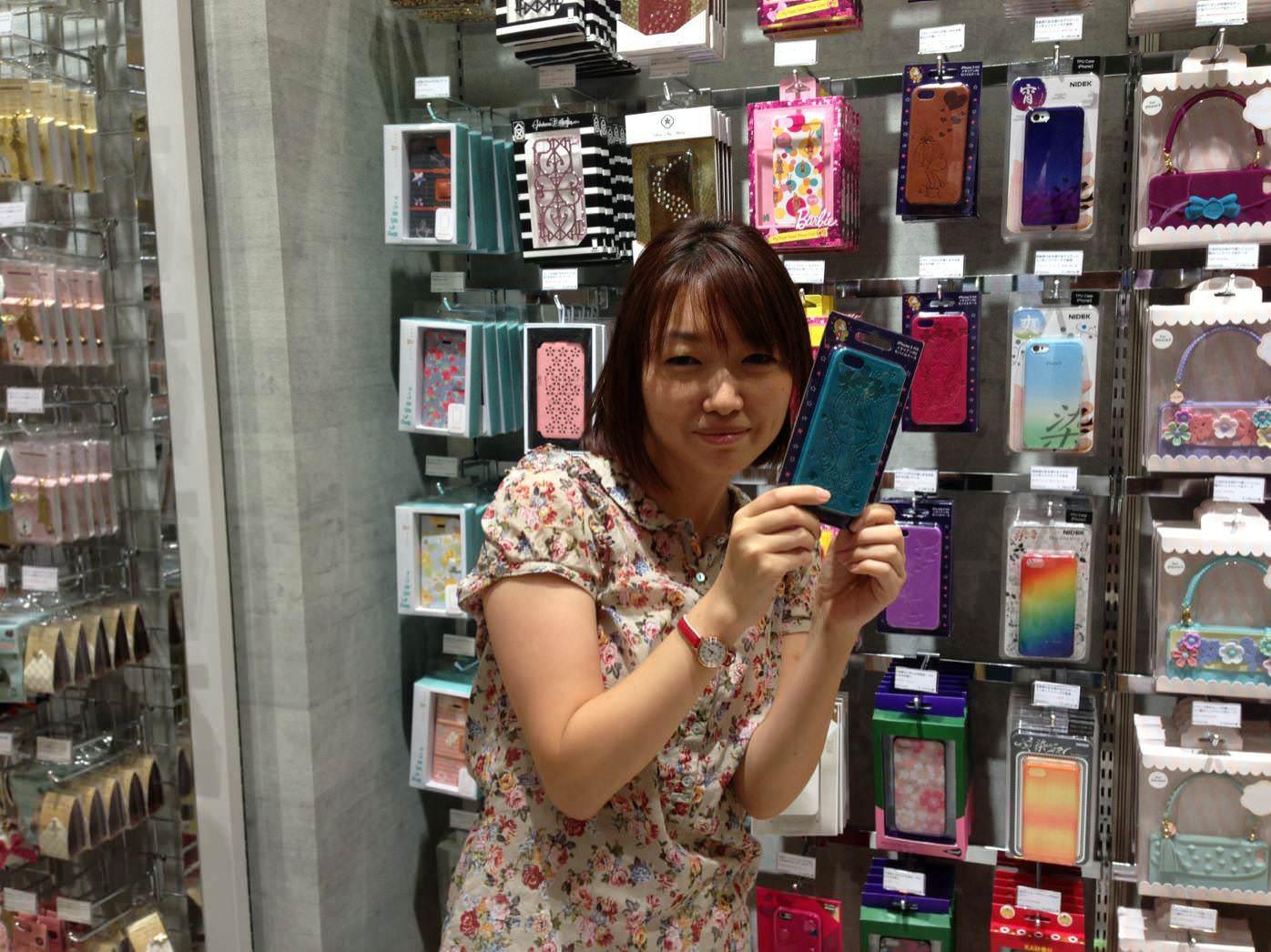 スプリングまおとシンプルなiPhoneケース。