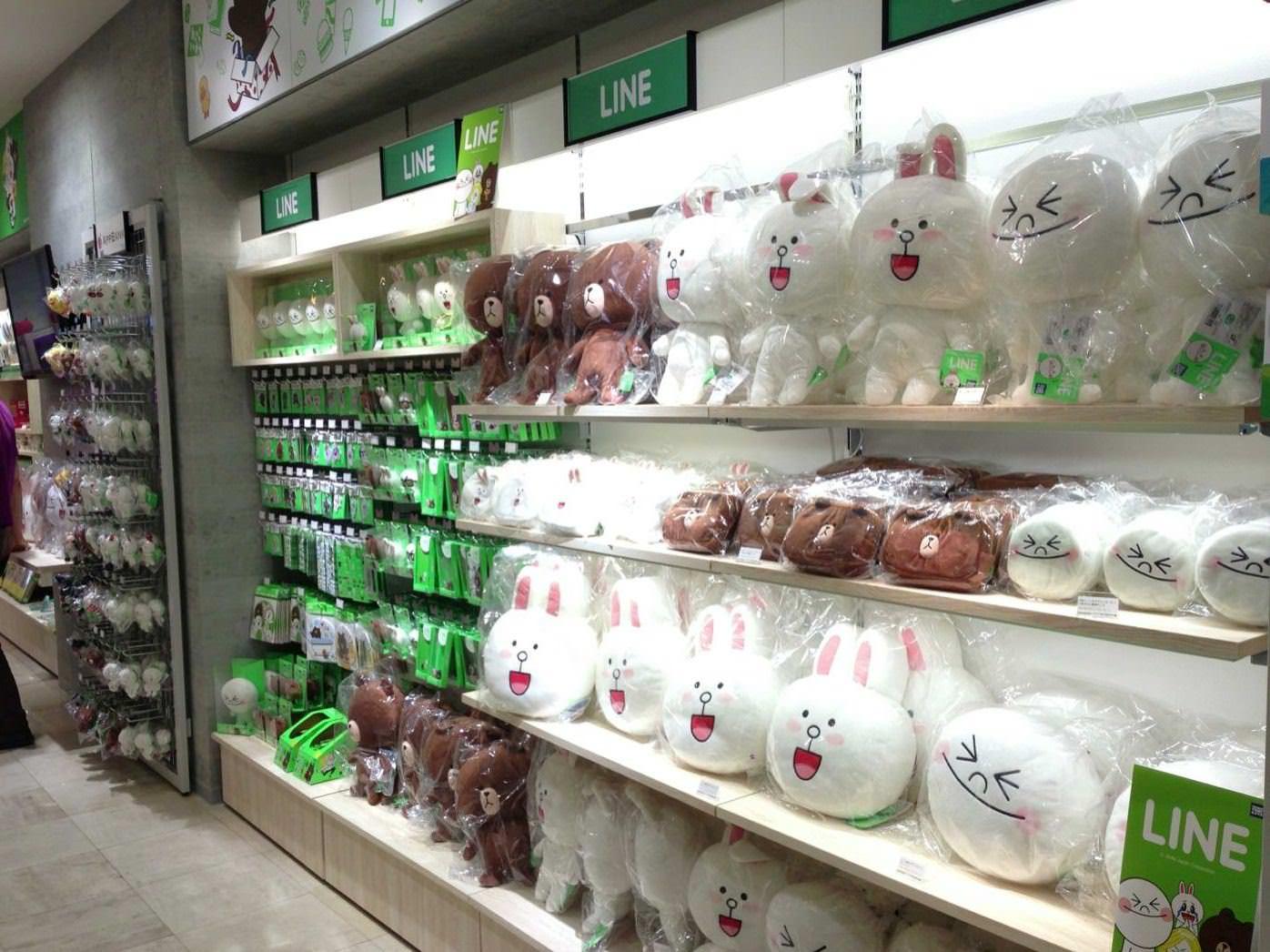 AppBank Store 新宿のLINEグッズラインナップ