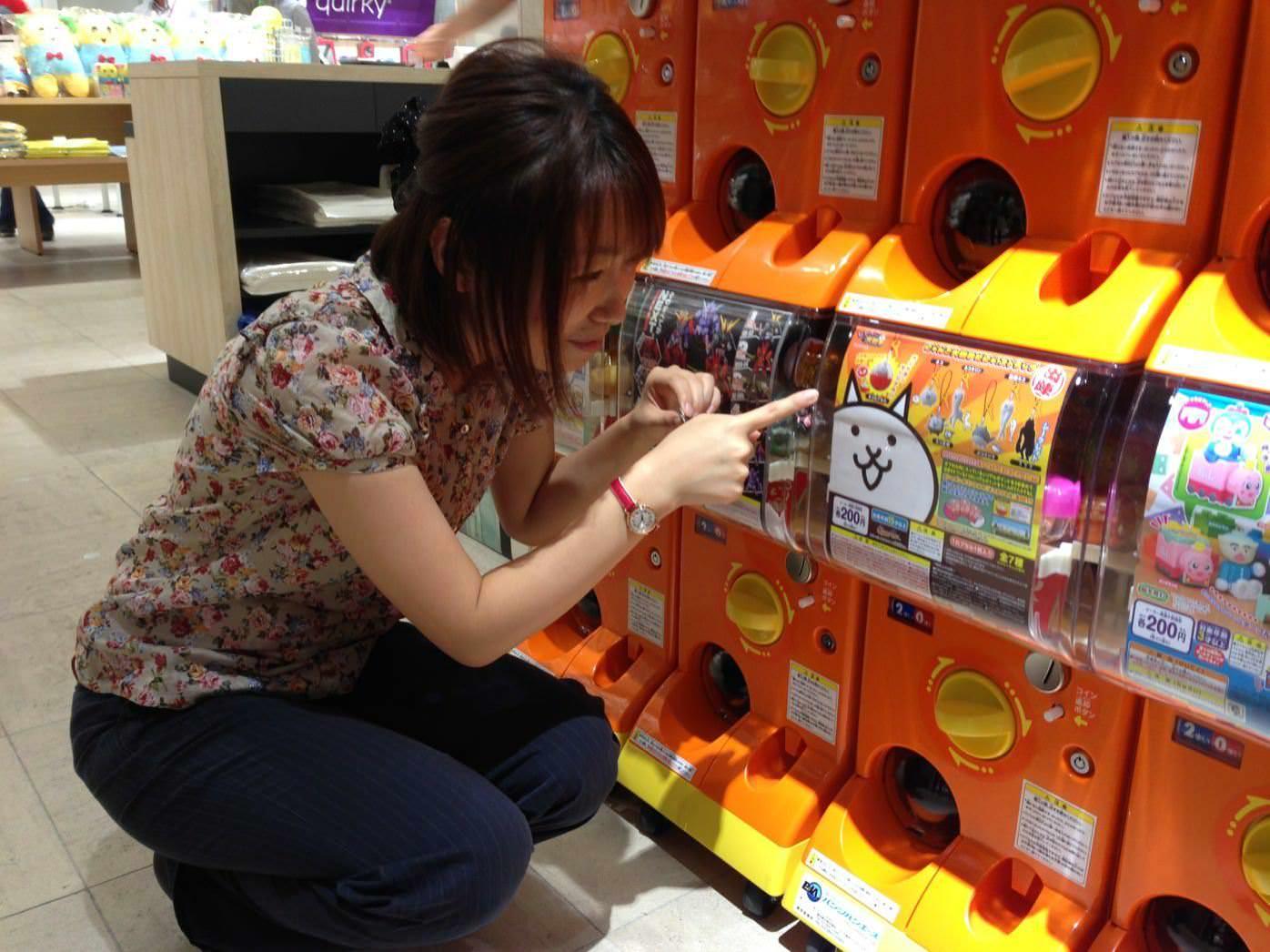 AppBank Store 新宿のガチャコーナー