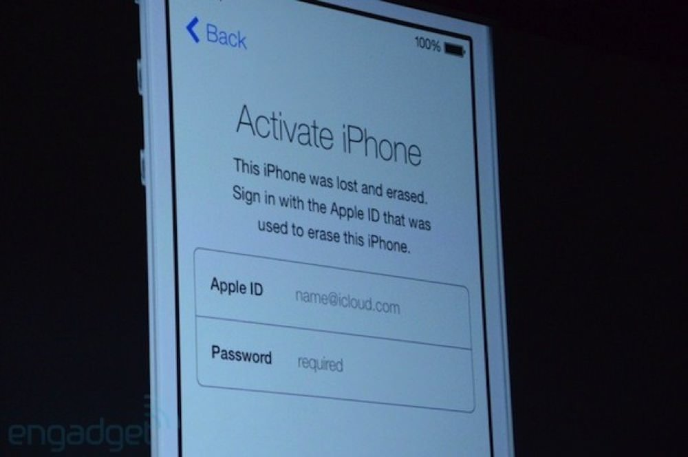 iOS 7新機能Active Lock