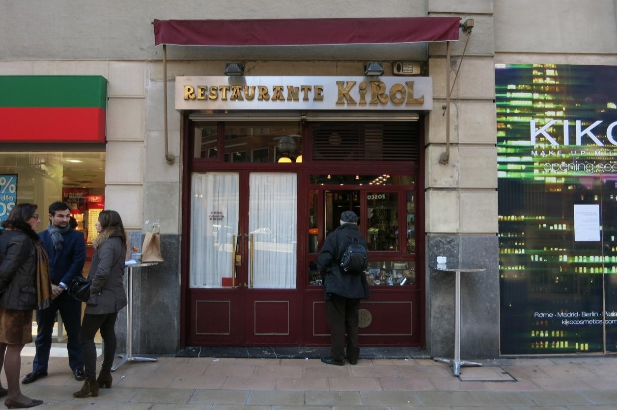 Bilbio restaurante kirol 16