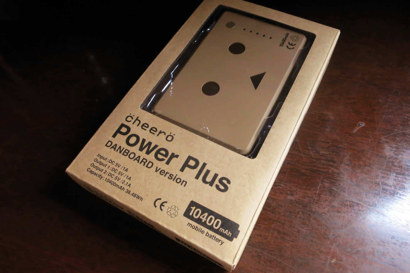 Cheero power plus danboard versionのケース