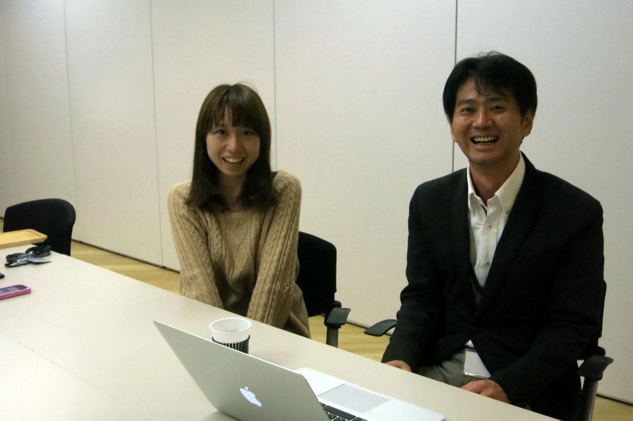 ユナイテッド株式会社の梶原彩菜さんと山本さん。