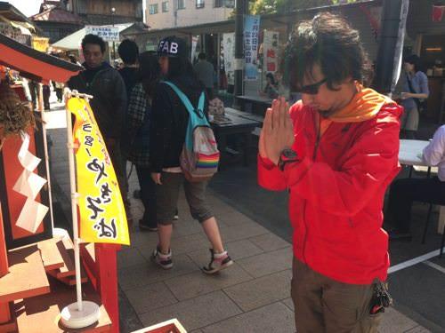 富士宮やきそば学会にお参り