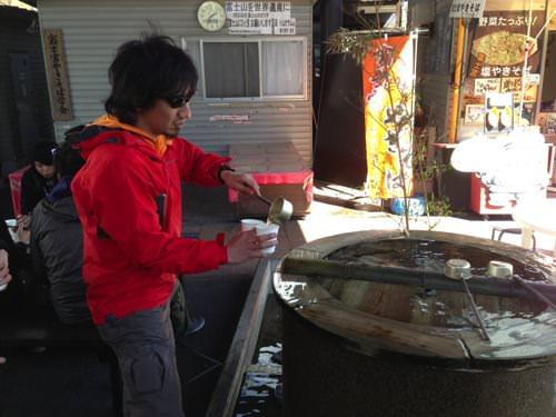 富士のわき水