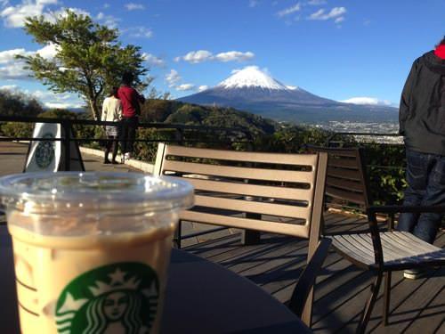 やっぱり絶景だ!富士山がちょー見える!