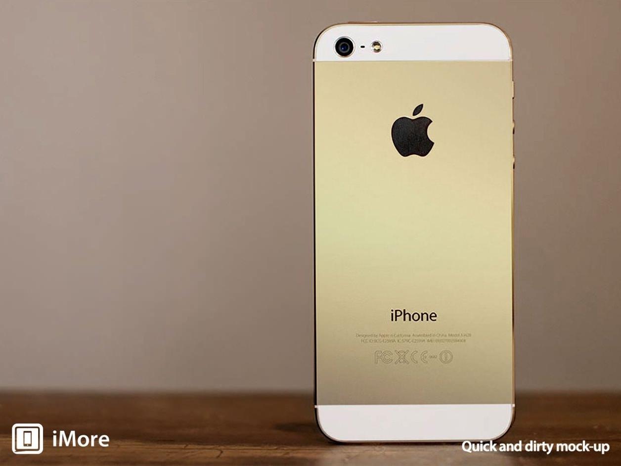 iPhone 5s ゴールド