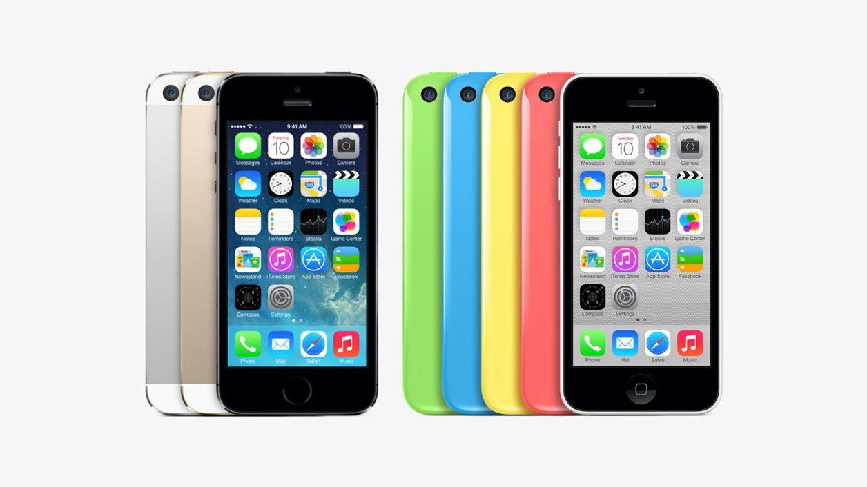 iPhone 5sとiPhone 5cのカラーバリエーション(色)
