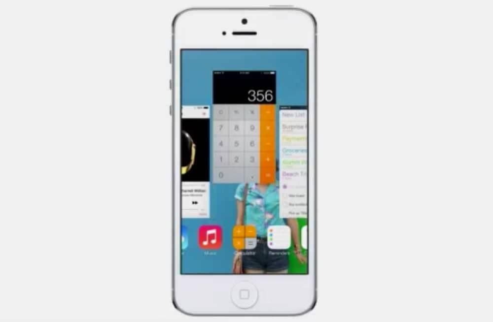 iOS 7新機能完全マルチタスク
