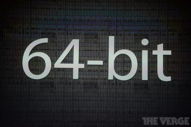 iPhone 5sはなんと64bit