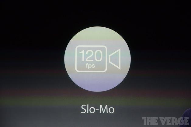 iPhone 5sにはスローモーションカメラが搭載されています。
