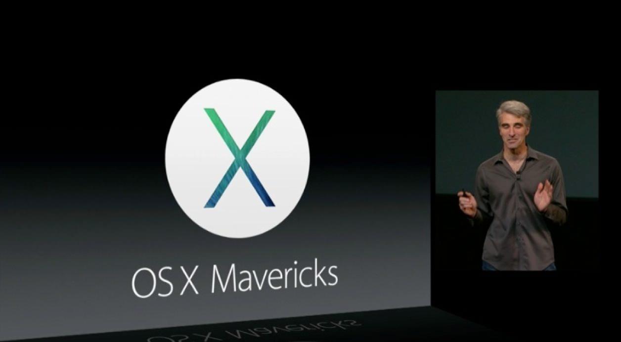 OS X Mavericks(マーベリックス)