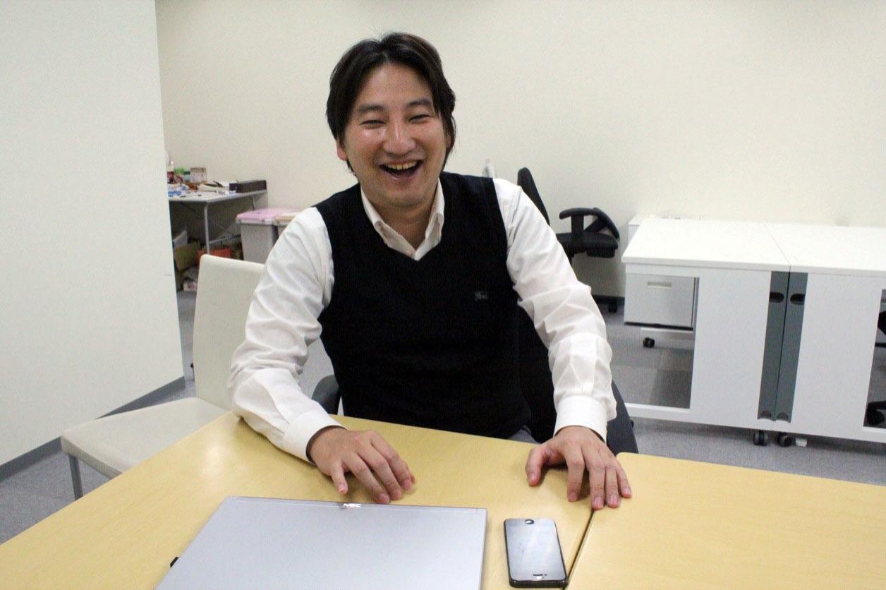 HEROZ株式会社の代表取締役、林隆弘さん