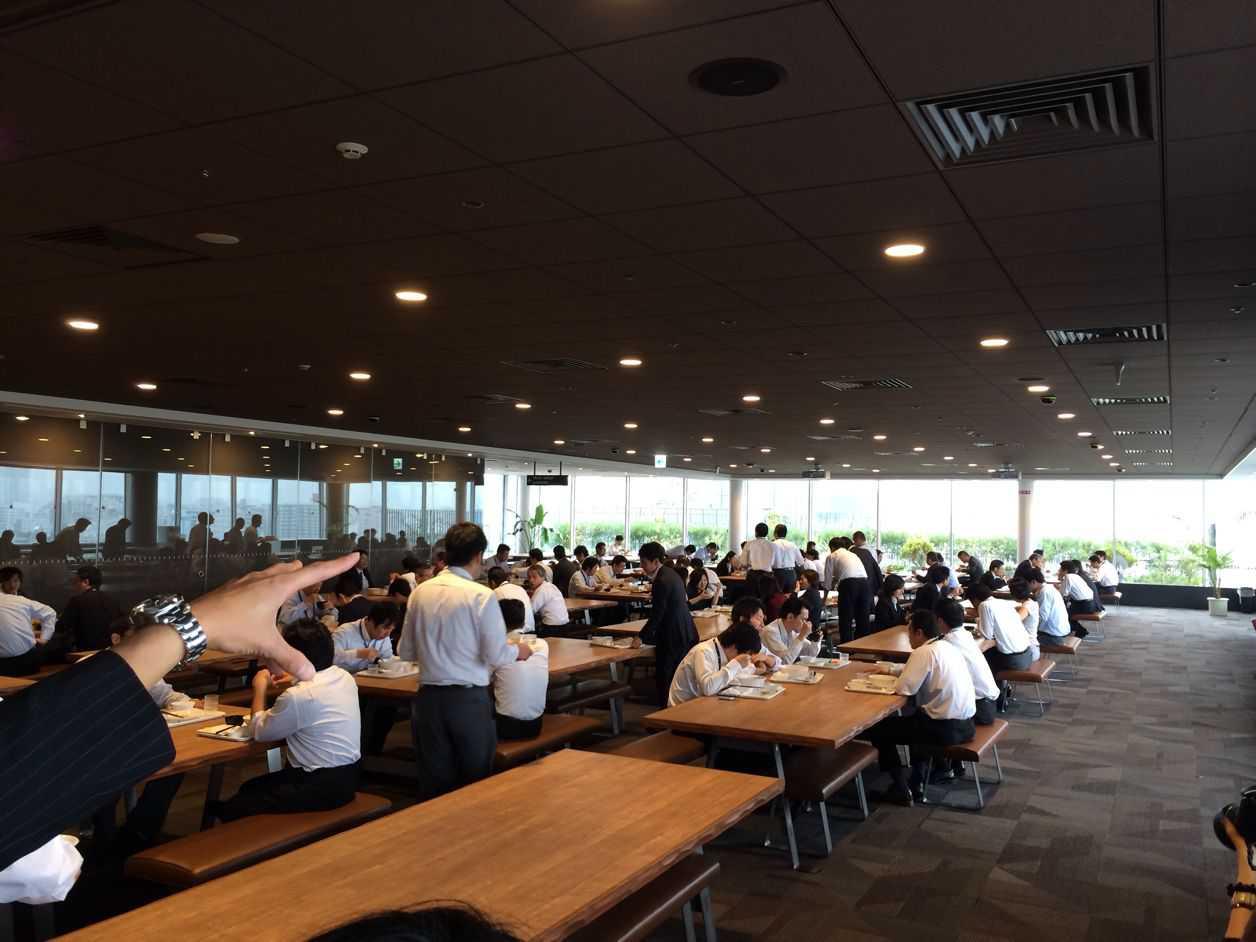 日本HPの社員食堂に特別潜入!これが半沢直樹で登場した食堂だ!なんとクックパッドの人気レシピが食べられる!