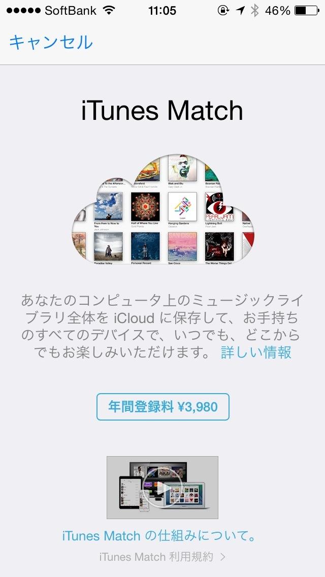 年間登録料¥3,980をタップ