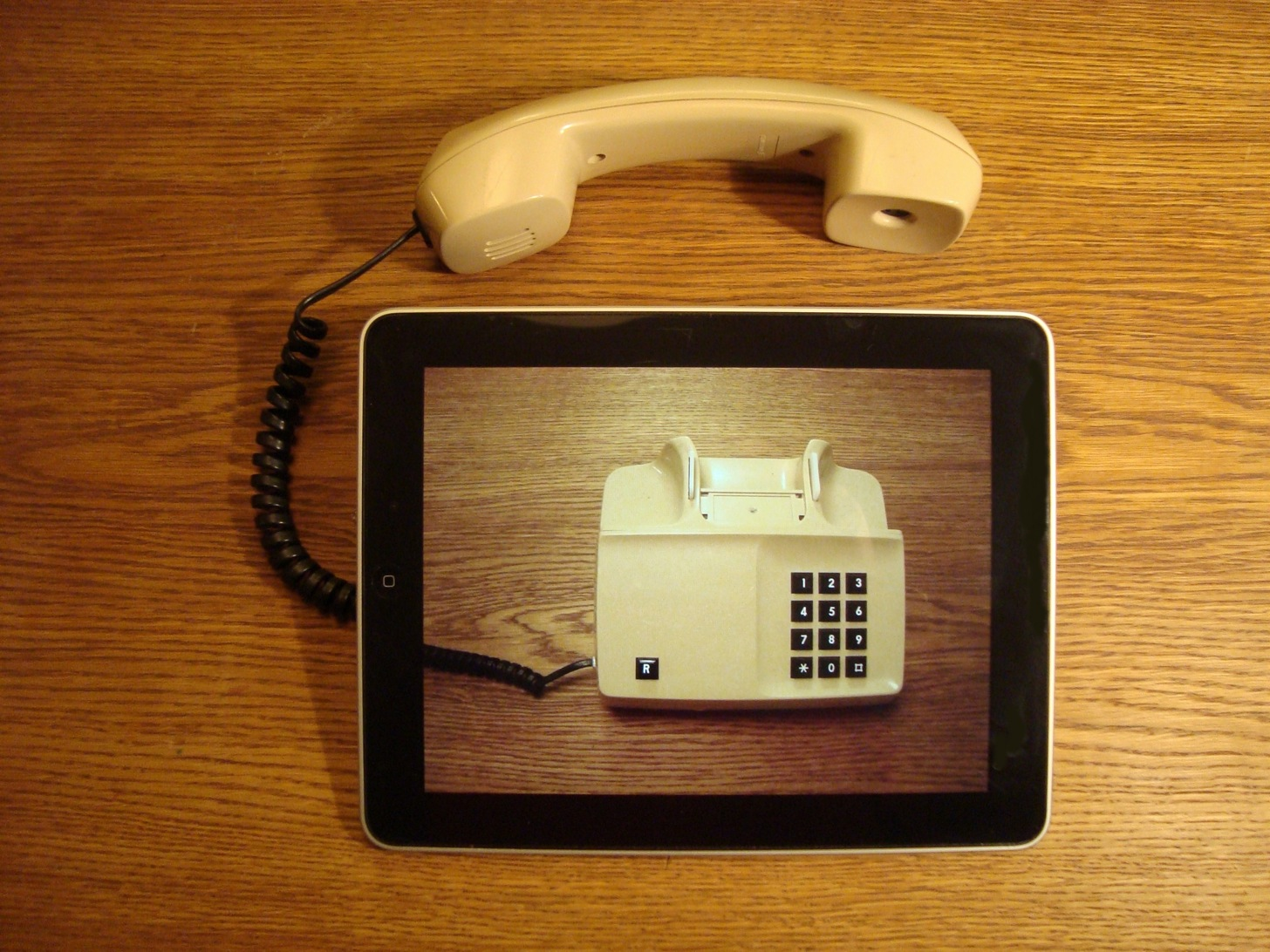iPadと電話