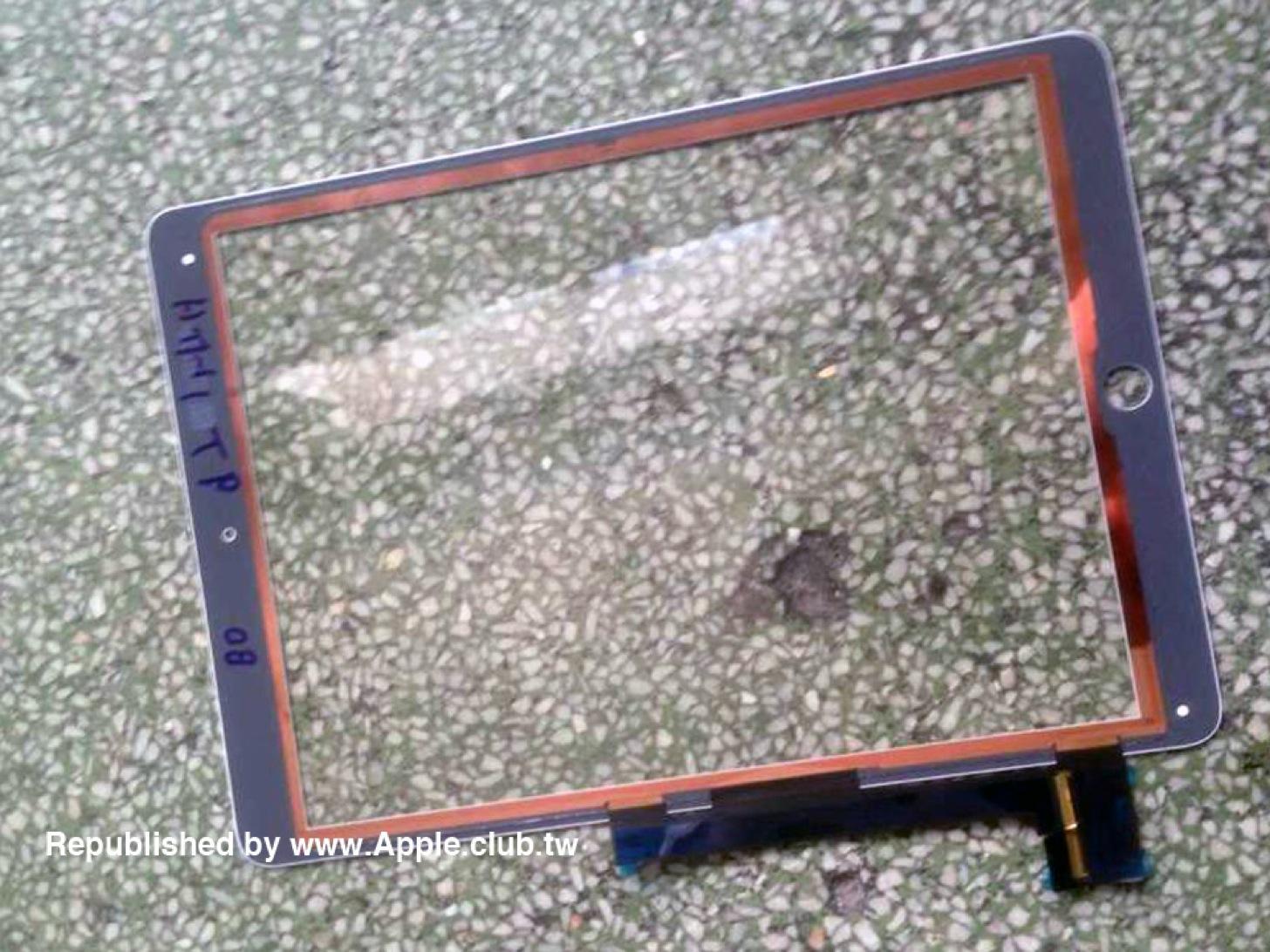 iPad Air 2の液晶パネル