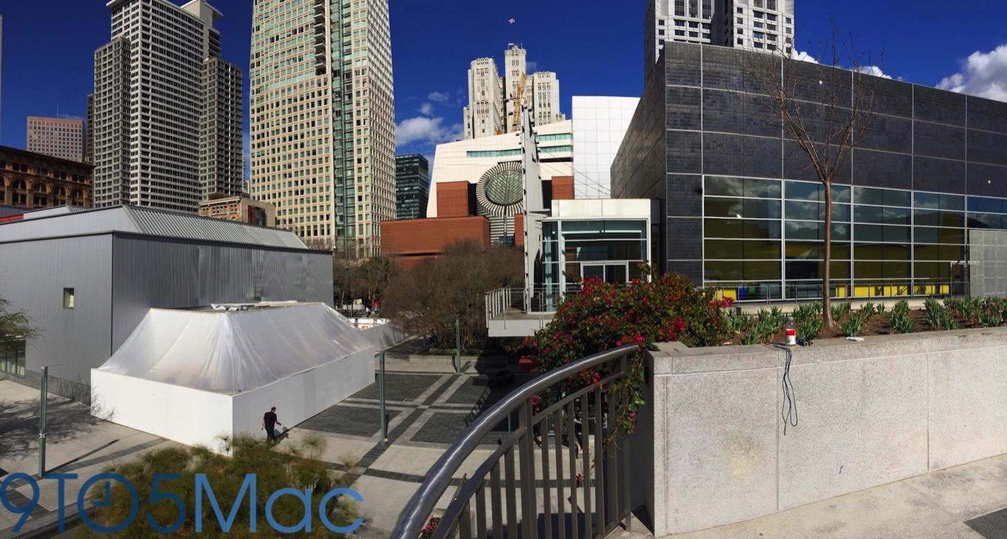 Apple Watchの発表会場