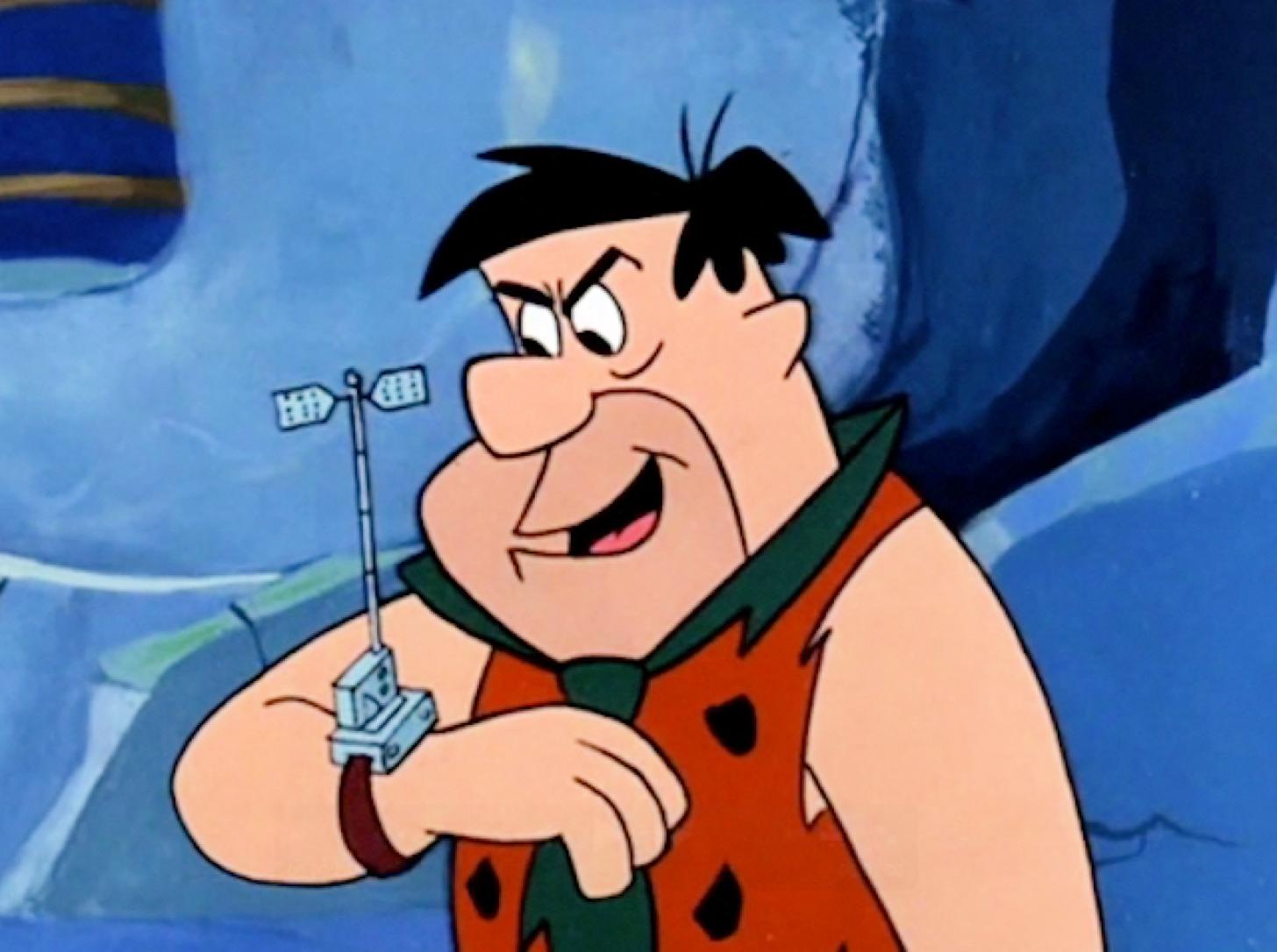 Flintstone wristphone