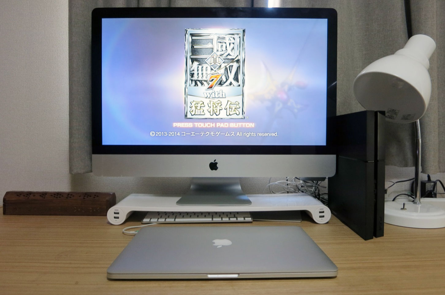 PS4をiMacでプレイなう