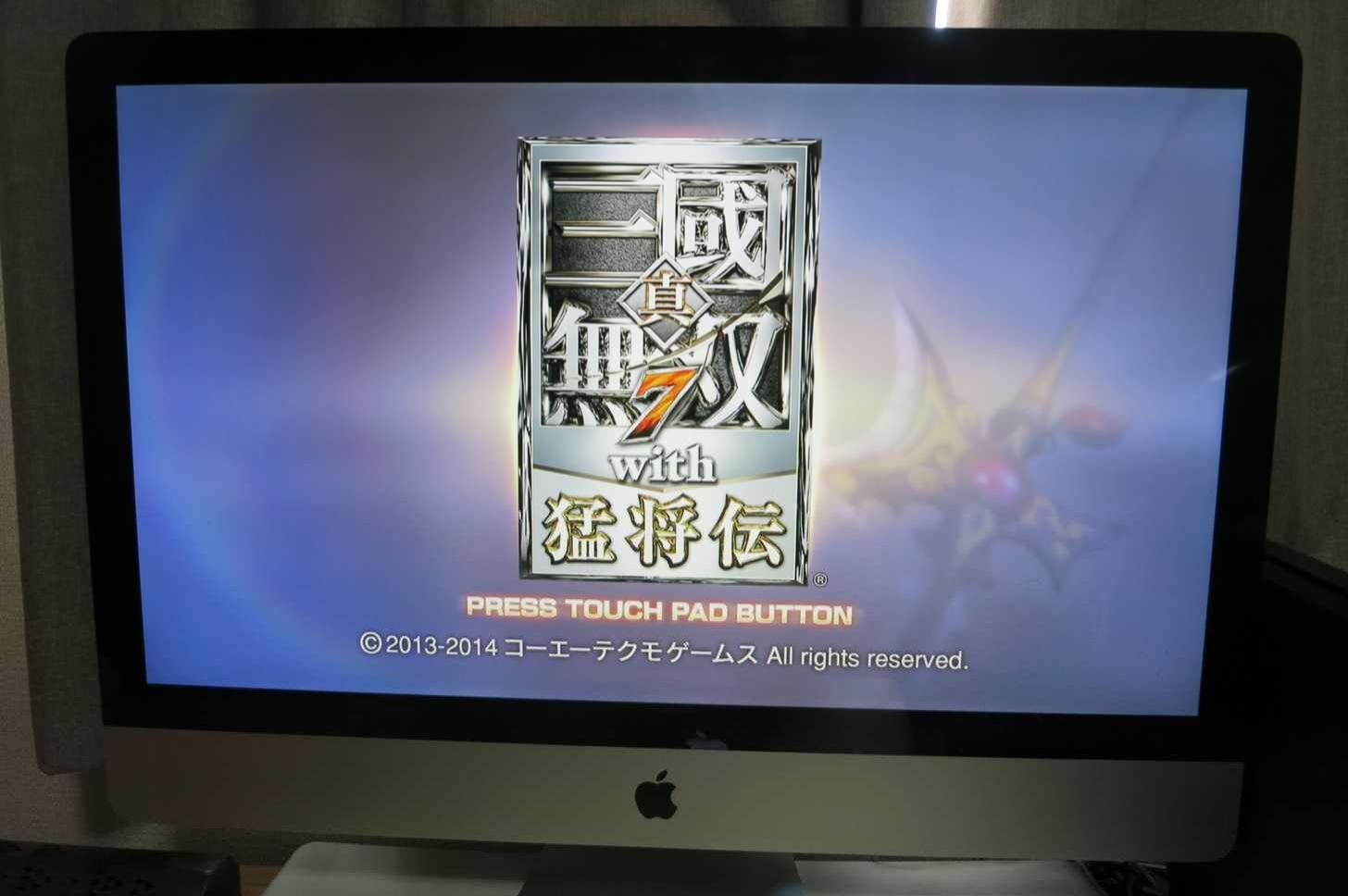 PS4のダウンロード版ゲームソフトが動いた!